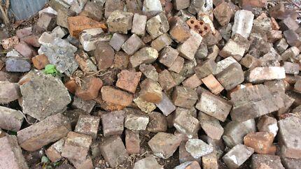 Free rubble, concrete blocks and half bricks. Leichhardt Leichhardt Area Preview