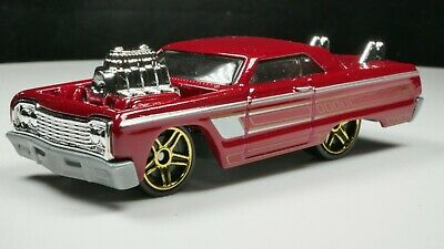 1964 Chevy Impala 1/64 Scale Diecast Diorama Rare Car