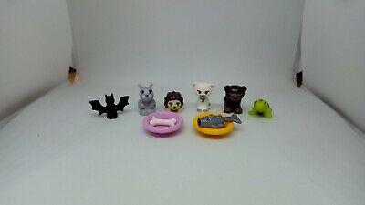 Lego friends animals bundle: hedgehog, cat, bear, rabbit, turtle.