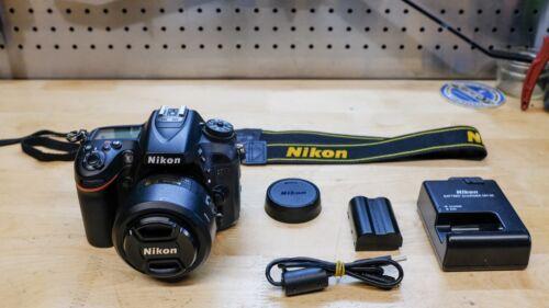 Nikon D7100 24.1 MP Digital SLR Camera + 35mm 1.8 Lens