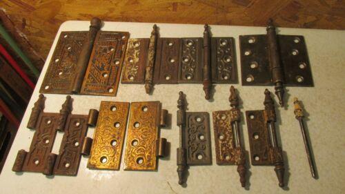 Antique Fancy Door Hinge Parts