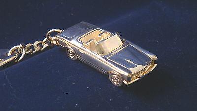 Schlüsselanhänger Mercedes W113 Cabrio Pagode versilbert  5101