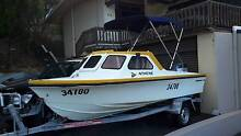 Baron Surfrider Half Cabin 16ft Boat Mount Pleasant Melville Area Preview