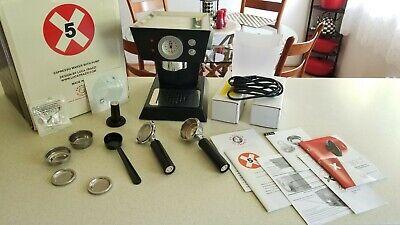 Illy FrancisFrancis! X5 Espresso Machine, Black