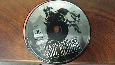 LEGACY OF KAIN Soul Reaver PS1 disc only, tested.