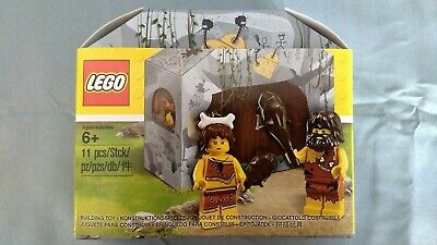 LEGO Promo 5004936 - Iconic Cave Caveman & Cavewoman - 11 Pcs - New. Sealed.