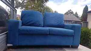 2 x teal 2  seater lounges Smeaton Grange Camden Area Preview