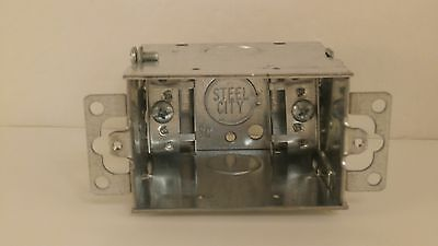 Steel City Electrical Outlet Box Lxow-25 New Surplus
