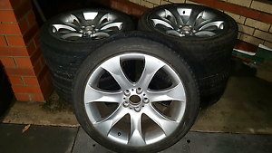 """Bmw x5 20"""" rims n tyres Girrawheen Wanneroo Area Preview"""