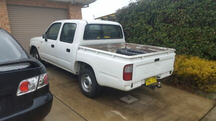 99 toyota hilux dual cab ute very clean ute  Panania Bankstown Area Preview