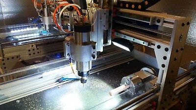 ROBO-SHOP CNC 4th & 5 th AXIS COMBO ++ FAST ++ for CNC ROUTER + CNC MILL +