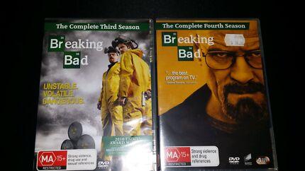 Breaking Bad Season 3 & 4 Warragul Baw Baw Area Preview