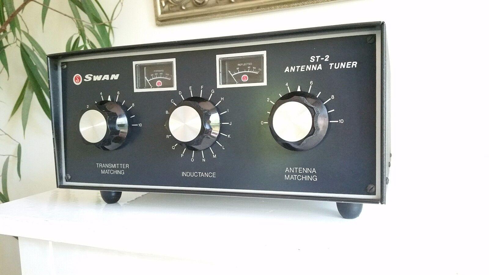 Swan ST-2 2000 Watt 2 KW High Power Antenna Tuner C MY OTHER