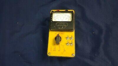 Vintage Triplett Model 666-666h Multimeter Ohm Meter Untested 3-day Refund