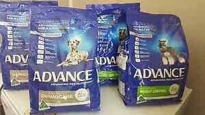 4x BAGS ADVANCE DOG FOOD! CHEAP - Urgent Sale! Jimboomba Logan Area Preview