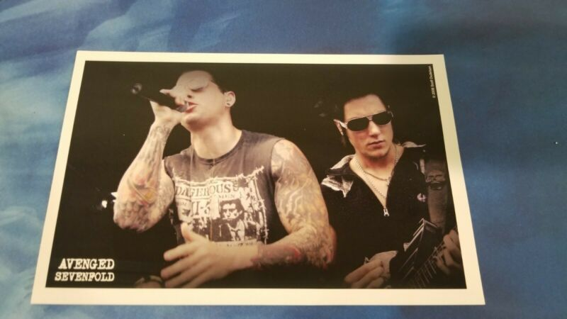 Avenged Sevenfold RARE print numbered & signed