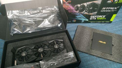Asus GeForce GTX 1080 Ti ROG Strix 11GB Gaming Aktiv PCIe 3.0 x16 mit OVP