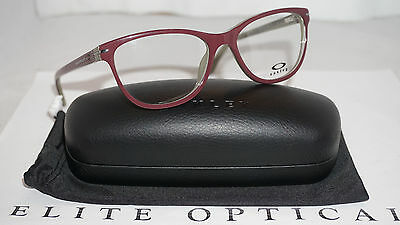 OAKLEY RX Eyeglasses New Authentic Stand Out Mahogany with case OX1112-0253