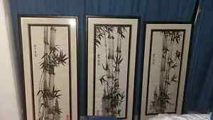 Chinese bamboo paintings Edmonton Cairns City Preview