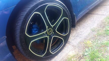 PDW WHEELS 19 INCH GOOD TYRES  Lakemba Canterbury Area Preview