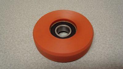 Lot Of 4 - 4 Siemens Neoprene Rubber Caster Wheels 68.0010.110-02 Brand New
