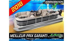 2018 Legend Boats Ponton Bayshore Lounger Mercury 25 ELPT Bateau
