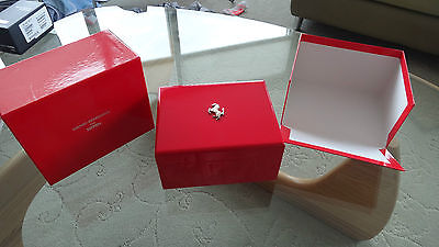 Girard Perregaux Ferrari Watch Box Beautiful Condition.  GP Vintage