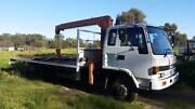 Isuzu Crane Truck Wattle Grove Kalamunda Area Preview