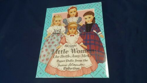 Vintage Peck-Gandre Little Women Alexander Paper Dolls Book Uncut NOS LN Sealed