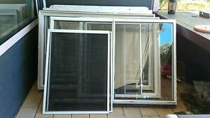 5 Aluminum sliding windows with fly screens Carcoar Blayney Area Preview