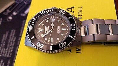 Invicta Pro Diver 420 Titanium Automatic Watch Mint Condition