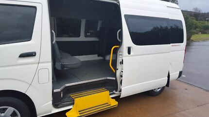 2012 Toyota Hiace Commuter Bus Wheelchair Axcess Smithfield Parramatta Area Preview