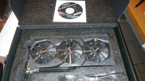 ASUS Radeon VEGA 56 AREZ Strix Gaming OC Grafikkarte 8GB HBM2 ! Top Zustand !
