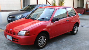 1998 Red Toyota Starlet Moonee Ponds Moonee Valley Preview
