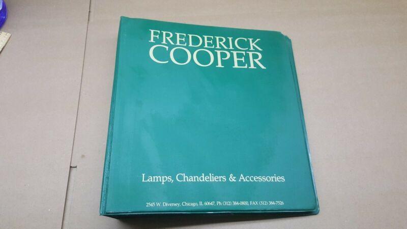 Vintage Frederick Cooper Lamp Catalog-portfolio-reference guide-VHTF-a3-1990s