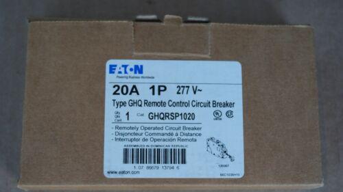 GHQRSP1020 Eaton (Type GHQ) Remote Control Breaker