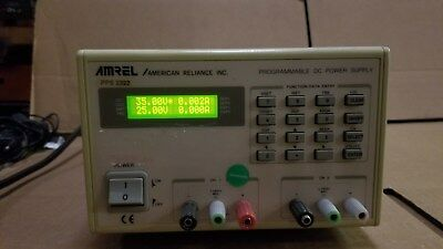 Amrel Pps2322 Programmable Dc Power Supply Tested Good