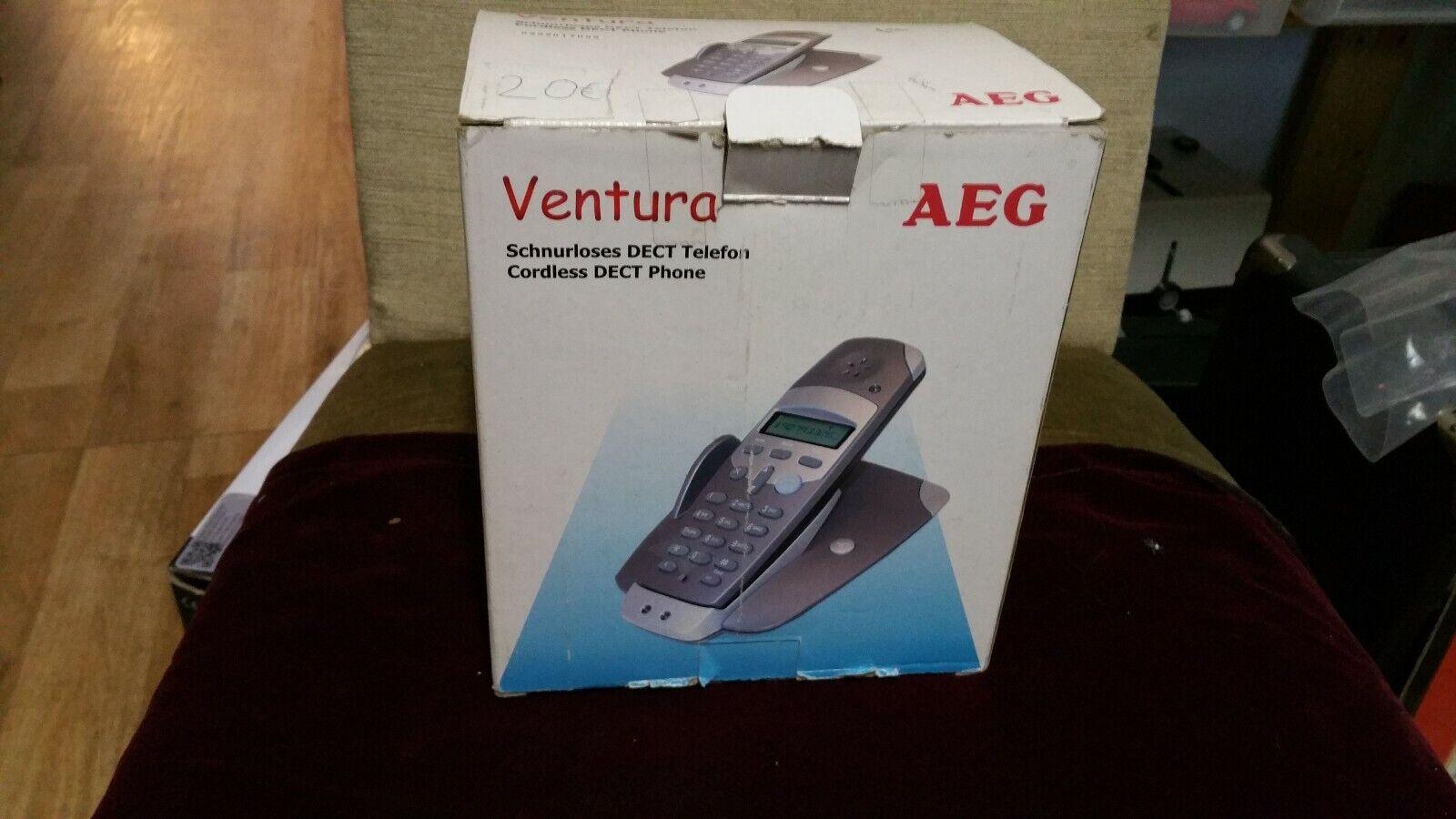 Schnurlos Festnetz Telefon AEG Ventura OVP Unbenutzt