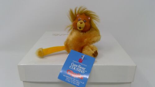 1985 American Greetings Care Bear Clippit Lion - W/Tag