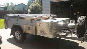 Hard floor camper trailer, camping trailer, rear fold hard floor Sunbury Hume Area Preview