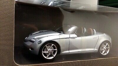 New 1:18 scale model by Mercedes Brand, Mercedes-Benz Vision SLA Roadster silver