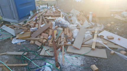 Free wood for BBQ and camp fire or diy projects
