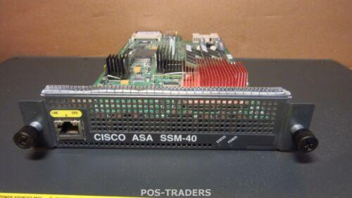 Cisco ASA-SSM-40 ASA V01 5500 AIP Security Service Module FROM CISCO ASA5540 V03