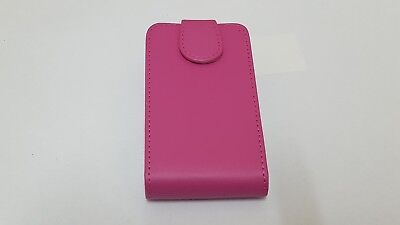 NEW PINK GENUINE PU LEATHER FLIP CASE COVER FOR BLACKBERRY CURVE BB9790 9790 Pink Case Blackberry Curve