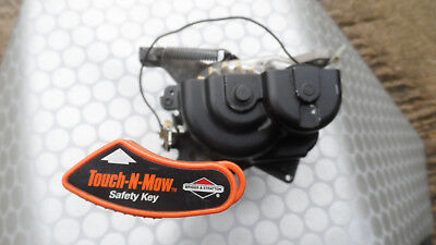 BRIGGS & STRATTON QUANTUM ENGINE TOUCH-N-MOW STARTER MOTOR (NOT ELECTRIC START)