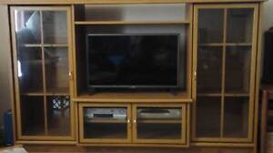 Solid TV Cabinet Ferntree Gully Knox Area Preview