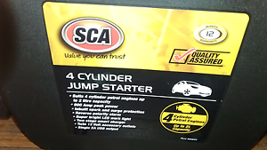 New 4 cyl  jumper pack and battery charger Southport Gold Coast City Preview