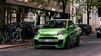 Smart Brabus Ultimate E in Frontansicht