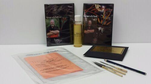 Steve Kafka Pinstriping kit / Kafka Scrolling / Longliner Striping Brush