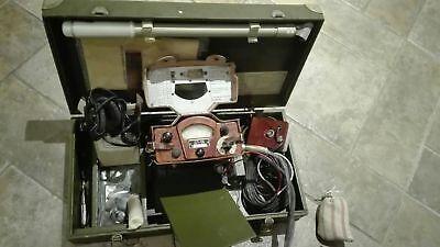 Dp-5b Ussr Radiation Testers Geiger Detector Dosimeter Military In Box